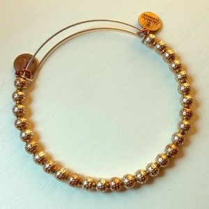 Alex and Ani Gold Bracelet  Like New!